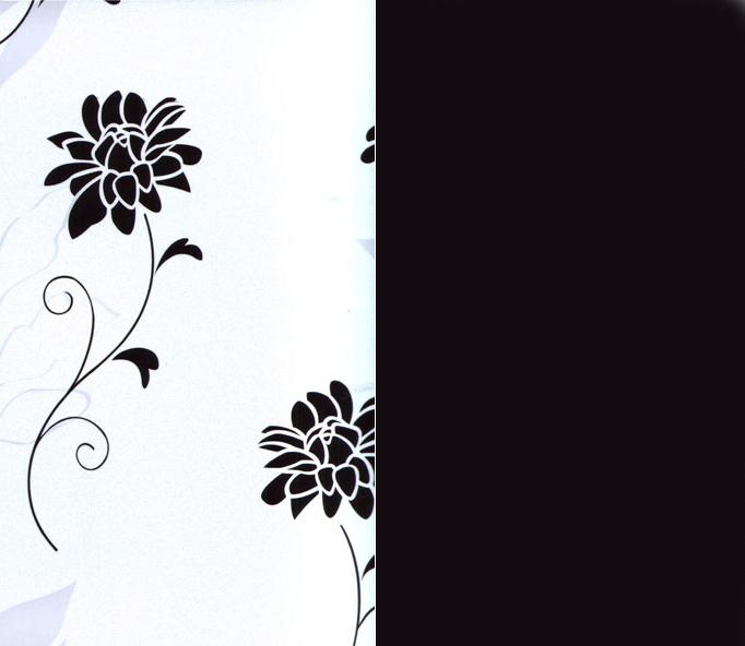 Азалия бело/черная