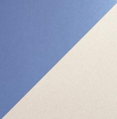 Голубой металлик / шагрень патина