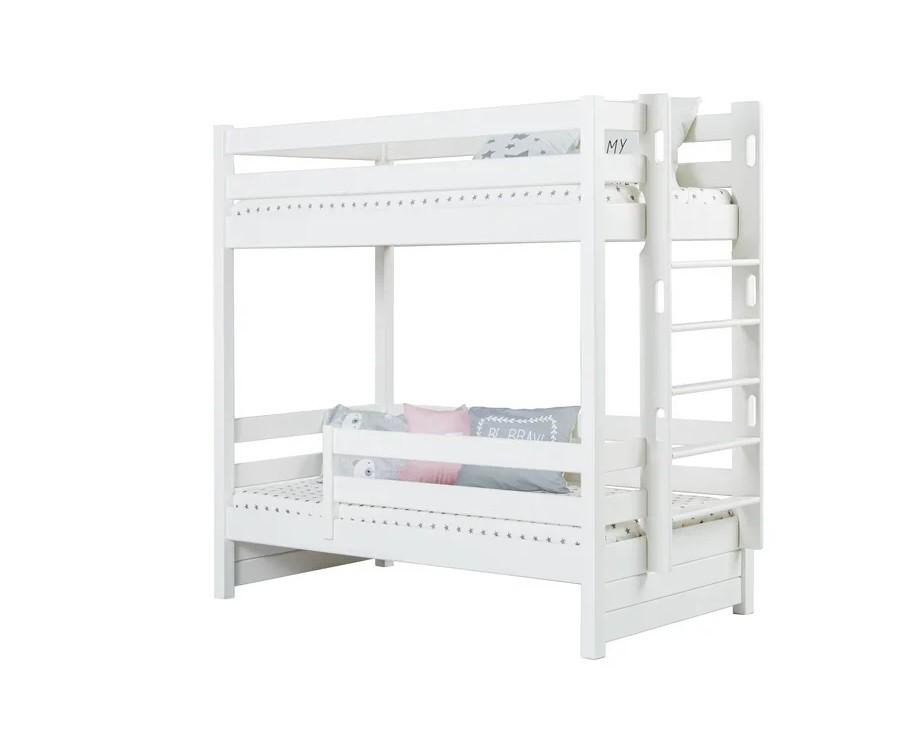 Кровать двухъярусная Тимберика Кидс №14 с бортиком - Каталог мебели - Кровати из массива - Эра мебели